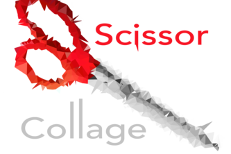 Scissor Collage