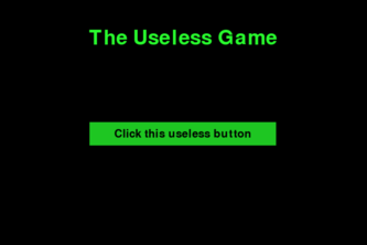 The Useless Game