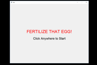 Fertilize the Egg