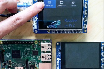 Windows 10 IoT Core for Adafruit SPI Touchscreen