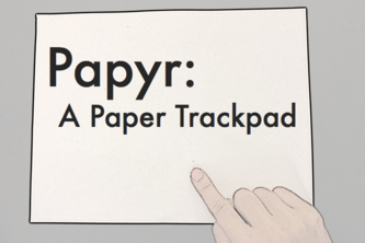 Papyr - A Paper TrackPad