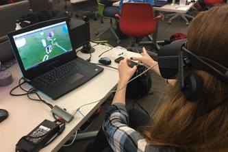 A Girl's Reality- a VR Oculus Leapmotion experience
