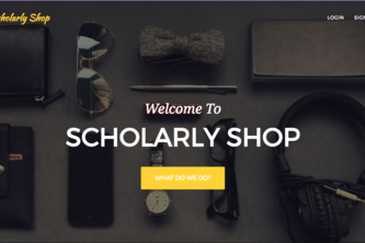 Scholarly Shop