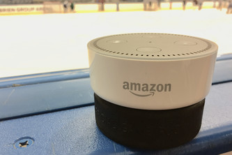 Hockey Updates, an Alexa skill with audio updates