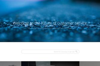 Welcome to the future: Of Customer Service