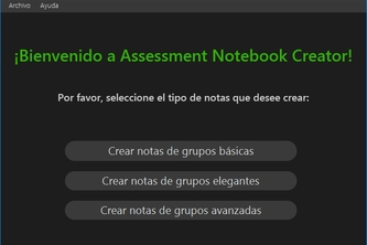 Assessment Notebook Creator (for PC)