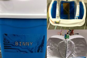 Binny - The Smart Dustbin