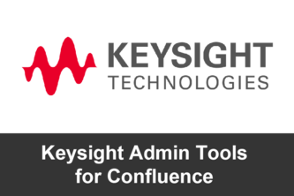 Keysight Admin Tools For Confluence