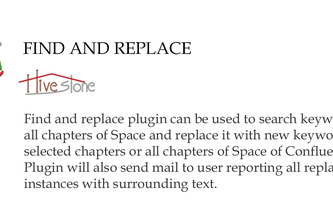 Find and Replace Utility Plugin
