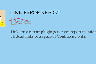 Link Error Report for Confluence