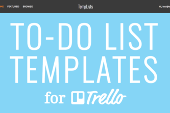 TempLists: To-Do List Templates for Every Occasion
