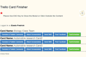 Trello Cards Finisher