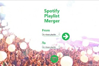 Spotify Playlist Merger