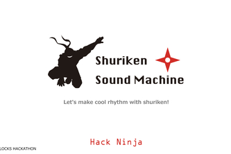Shuriken rhythm machine