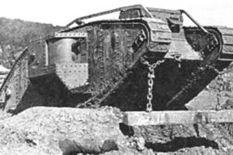 World War I Mark IV Tank Simulator