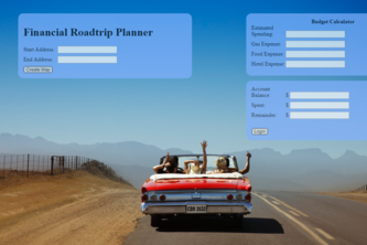 Financial Road Trip Planner