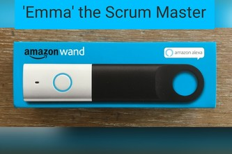 "Alexa Voice Service ""Emma"" as Scrum Master"