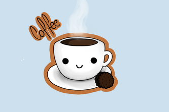 #cute_coffee_boi