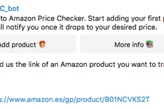 Amazon Price Tracker for Telegram