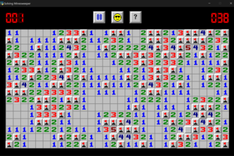 Solving Minesweeper