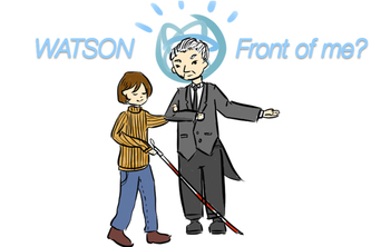 Watson Front of Me? (What's in front of me?)