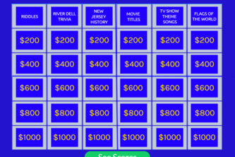 Jeopardy prototype (with working questions)