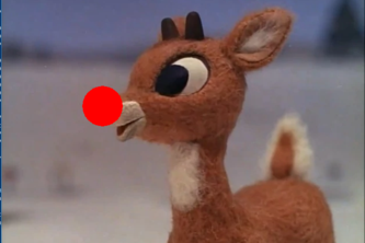 Pin-the-Nose-on-the-Rudolf