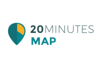 20 Minutes Map