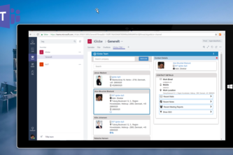 iGlobe CRM App for Microsoft Teams