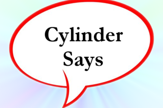 Cylinder Says