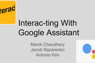 Interac-tions with Google Assistant