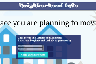 Neighborhood Info
