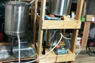 Automated Brewing Rig