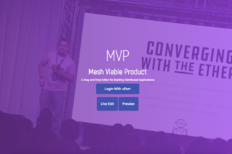 MVP - Mesh Viable Platform (Drag and Drop dApps)