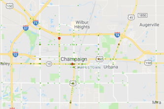 Champaign Crash Data