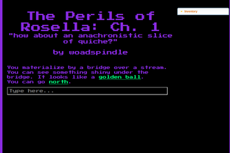 the {text-based} perils of rosella
