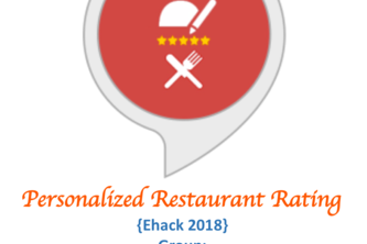 Personalized Restaurant Rating