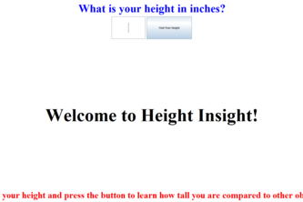 Height Insight