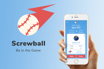 Screwball App: Game Day Companion