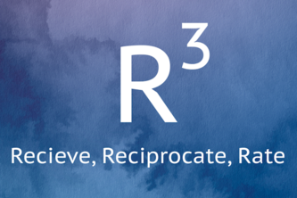 R Cube: Receive, Reciprocate, Rate