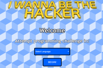 I wanna be the !HACKER!