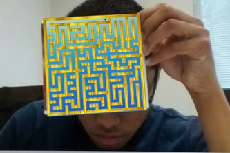 3D Story Maze Game