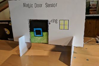 Magic door sensor