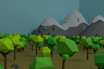 Low Poly FPS