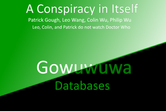 Gowuwuwa Databases