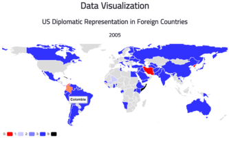 US Diplomatic Representation in Foreign Countries