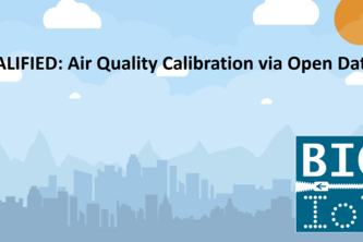 CALIFIED - Air Quality Calibration via Big IoT Data