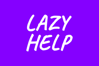 [Blockchain] Lazy Help