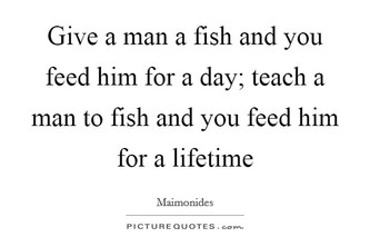 Teach A Senior To Fish