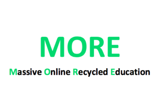 MORE (Massive Online Recycle Education)